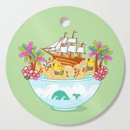 Ocean Adventure Ramen Cutting Board