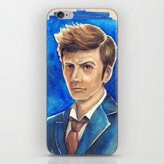David Tennant 10th Doctor Who iPhone & iPod Skin