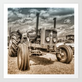 Fordson Custom toned Art Print