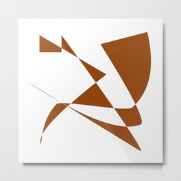 Endure Innovate Evolve Flourish Metal Print