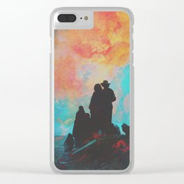 Pioneers Clear iPhone Case