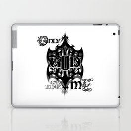 Only God Can Judge Me Laptop & iPad Skin