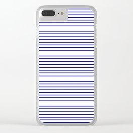 Mariniere marinière – classical pattern 2 Clear iPhone Case