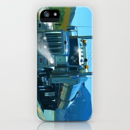 On the Highway Home iPhone Case
