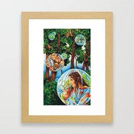 Jeannie... Framed Art Print