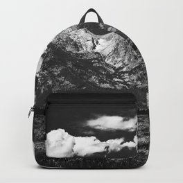 Mountain Summer Escape - Black and White Tetons Backpack