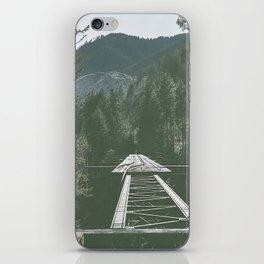 Vance Creek Bridge iPhone Skin