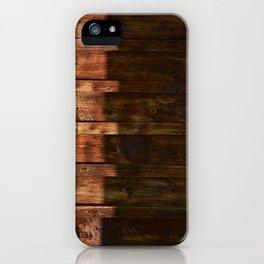 Barnwood Texture iPhone Case