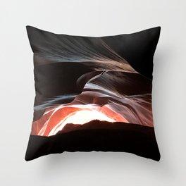 Antelope Slot Canyons - Utah Throw Pillow