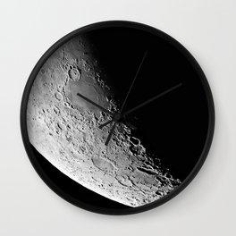Waning Moon Wall Clock