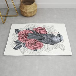 The bird with the silver key  Rug