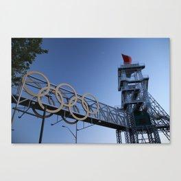 Olympic Rings in Atlanta Canvas Print