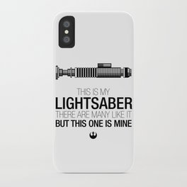 This is my Lightsaber (Luke Version) iPhone Case