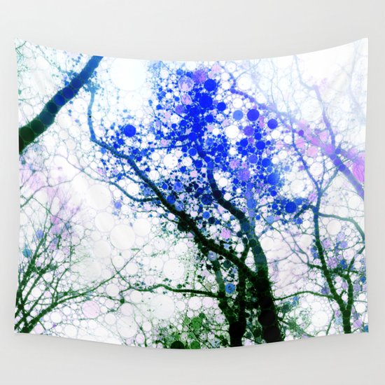 Tree Abstract 1 Wall Tapestry