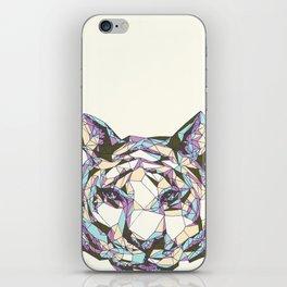 Crystal Tiger iPhone Skin