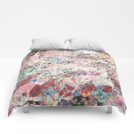 Charlottesville map Virginia Comforters