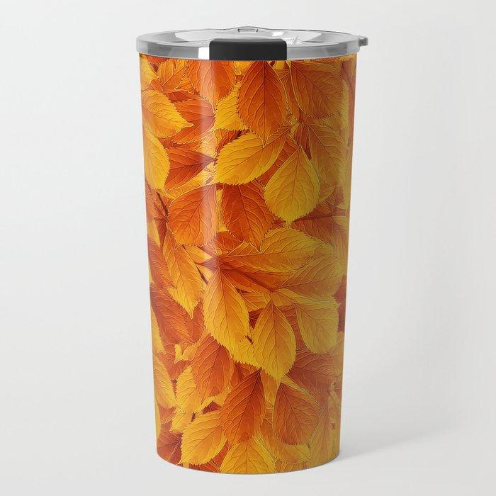 Autumn leaves #3 Travel Mug