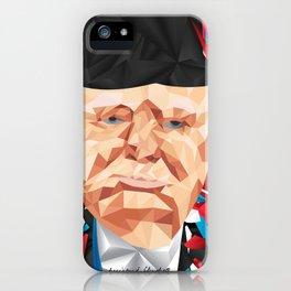Portrait of Sir Winston Churchill iPhone Case