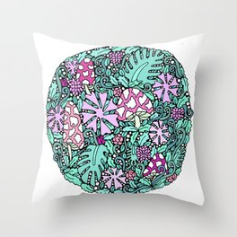 STRANDED IN YOUR FOREST Throw Pillow