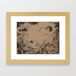 Crucify Myself Framed Art Print