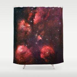 The Cat's Paw Nebula Shower Curtain