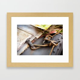 All Tied Up Framed Art Print