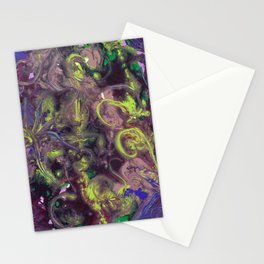 Fluid Dream Stationery Cards