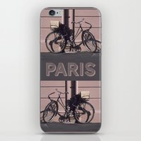 1984 iPhone & iPod Skins featuring PARIS BIKE 1984 by Bruce Stanfield