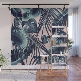 Tropical Jungle Leaves Dream #2 #tropical #decor #art #society6 Wall Mural
