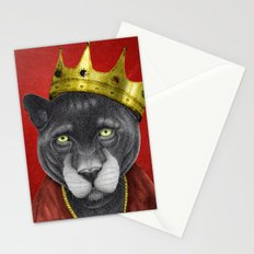 The King Panther Stationery Cards