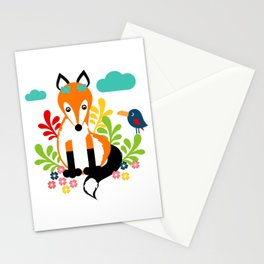 Miss Fox Stationery Cards