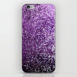 Purple Glitter #1 #decor #art #society6 iPhone Skin