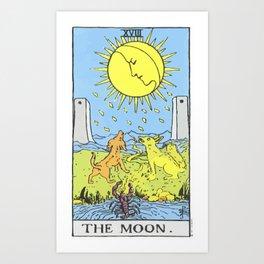18 - The Moon Art Print