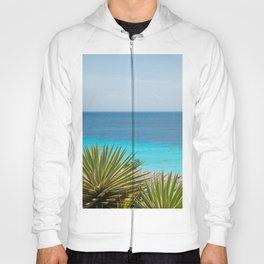 Caribbean Ocean Agave Oasis #1 #wall #decor #art #society6 Hoody