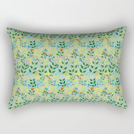 All you need is flowers Rectangular Pillow