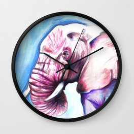 Tickled Pink Wall Clock