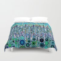 martini Duvet Covers featuring :: Blue Raspberry Martini :: by :: GaleStorm Artworks ::