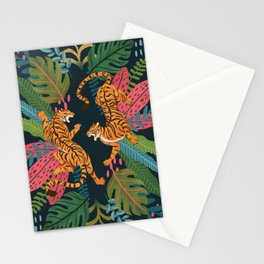 Jungle Cats - Roaring Tigers Stationery Cards