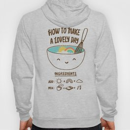 How to make a lovely day Hoody