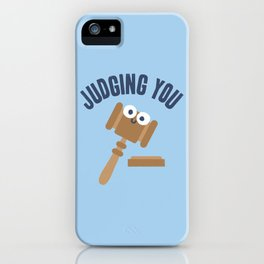 Held In Contempt iPhone Case