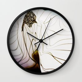 Glacial Foliation Wall Clock