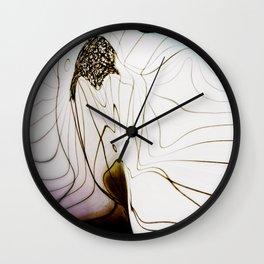 Glacial Foliation Wall Clock