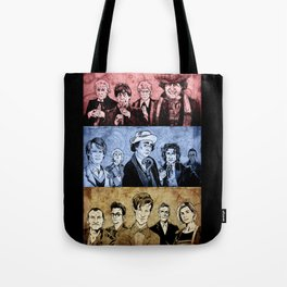 Doctor Who - Three Colours Who Tote Bag
