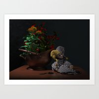 doll Art Prints featuring Doll by Joseph Miller