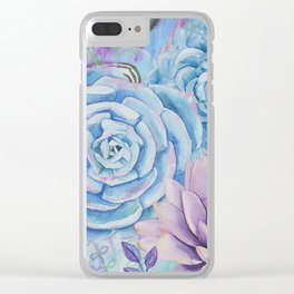 Lety's Lovely Garden Clear iPhone Case