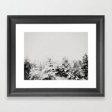 Winter Grey Framed Art Print
