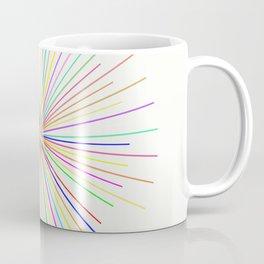 Strands Of Light - Defraction Pattern Coffee Mug