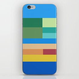 Color Stripes II iPhone Skin