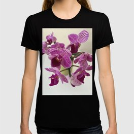 Pink and Sweet Petite Orchids T-shirt
