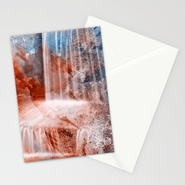 Acrylic Urbex Falls Stationery Cards